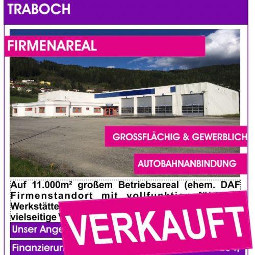 Traboch, Firmenareal