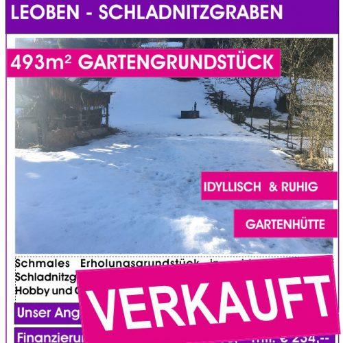 Grundstück Schladnitzgraben