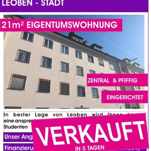 Vordernbergerstraße 21m²