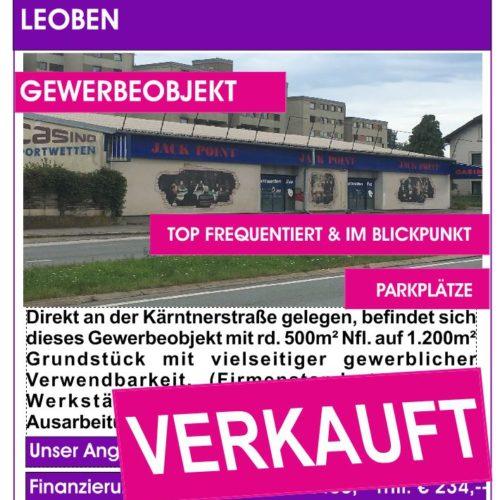 Leoben, Kärntnerstraße