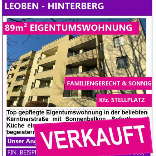 Inserat verkauft Hinterberg