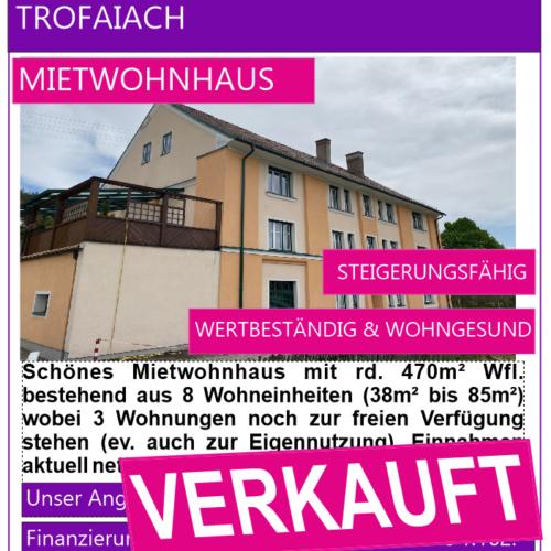 3. Trofaiach, Mietwohnhaus