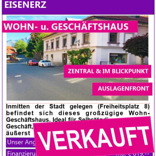 Eisenerz, Wohn- u. Geschäftshaus