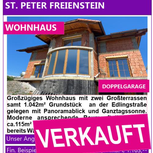St. Peter Wohnhaus Verkauft