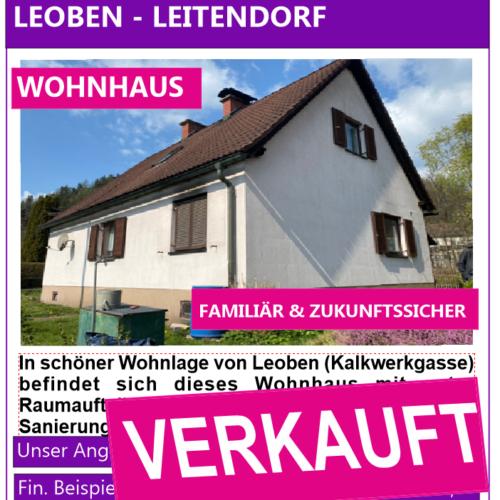 Wohnhaus Leoben - Leitendorf